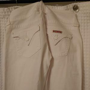 Hudson white jeans 26